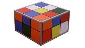 Image of a Puzzle Cube Coffee Table