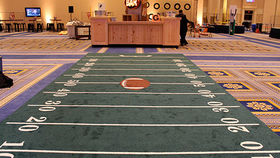 Image of a Carpet: Sports, Football Field Design