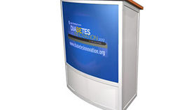 Image of a Podium: Premium with Custom Logo