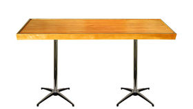 Image of a Knotty Pine Communal Table