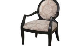 Image of a Chairs: Powers Taupe Chair QS