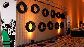 Image of a Football Toss - Tires/Truss 10x10