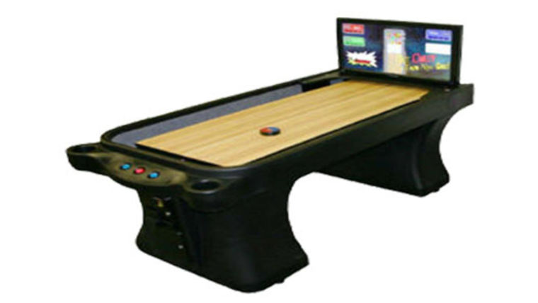 Picture of a Electronic Shuffleboard