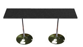 Image of a Black Speckled Communal Table