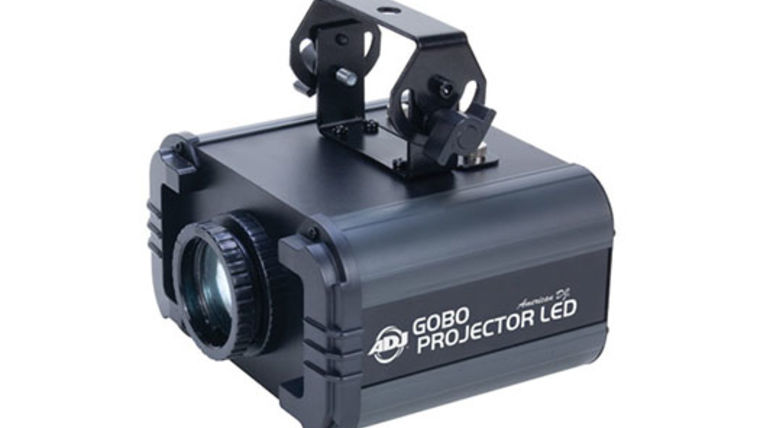 Picture of a American DJ LED Gobo Projector