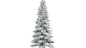 Image of a Tree: Flocked Alpine Tree 7.5'