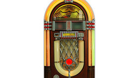 Image of a 1950s Juke Box, 2D