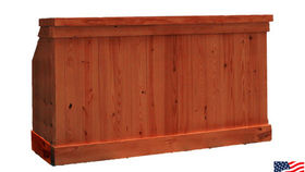 Image of a Bars: Knotty Pine, Single