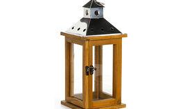 Image of a Lanterns:  Americana Natural Wood Lantern