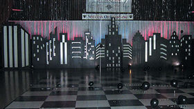 Image of a Cityscape Set, 24ft Group