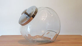 Image of a Candy Jar with Metal Lid