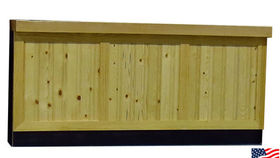 Image of a Bars: Knotty Pine Front, Single