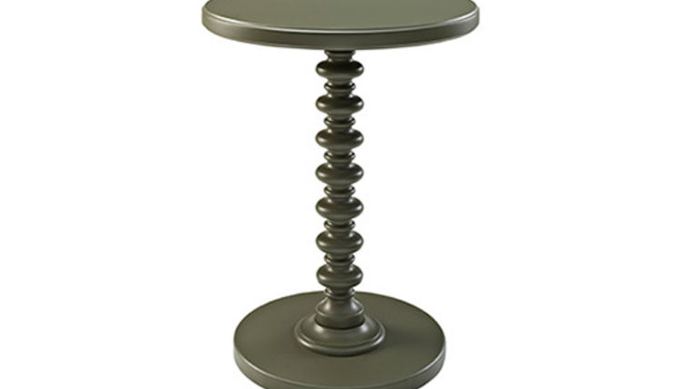 Picture of a Spindle End Table, Grey