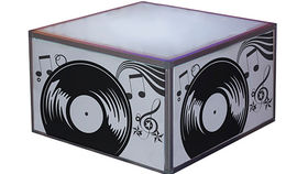 Image of a Rock N Roll Coffee Table