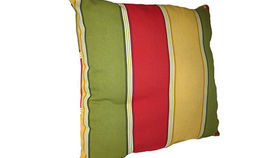 Image of a Bold Striped Pillow