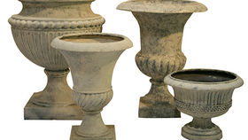 Image of a Urns: Giant Garden Urn Medium Granite
