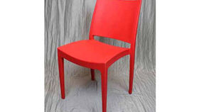 Image of a Chair: Milano Polycarbonate Red