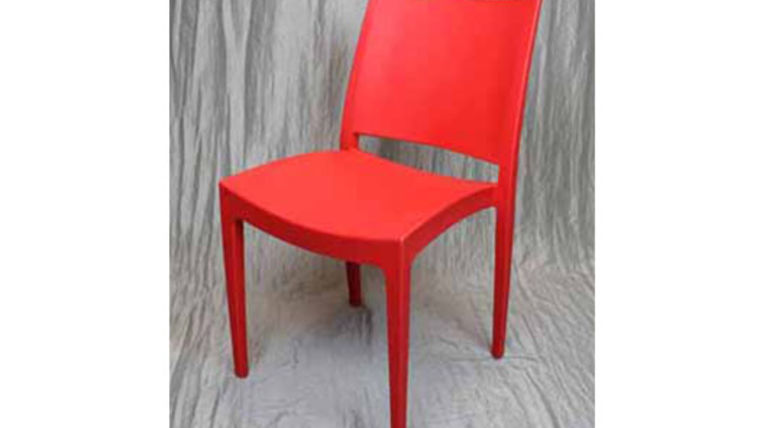 Picture of a Chair: Milano Polycarbonate Red