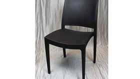 Image of a Chair: Milano Polycarbonate Black