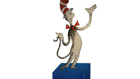 Image of a Prop: Storybook, Cat In the Hat cutout
