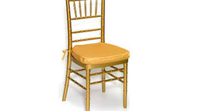 """Image of a Chair: Cushion Golden Harvest Bengaline 1.5"""" w/ Velcro"""