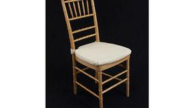 "Image of a Chair: Cushion Cream Twill 1.5"" w/ Velcro"