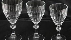 Image of a Glassware: Diamond Cut Water Glass