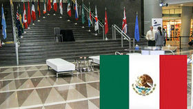 Image of a Flags: International, Mexico 3'x5' Nylon