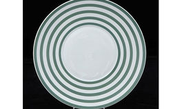 Image of a Base Plates: Green Circle 12""