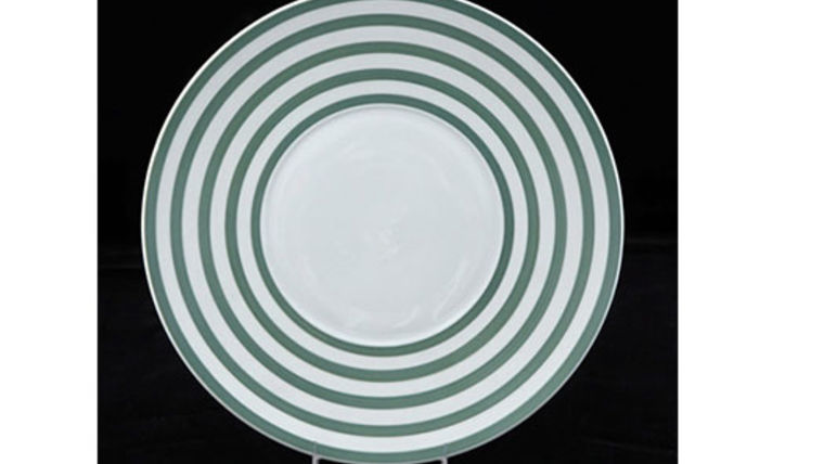Picture of a Base Plates: Green Circle 12""