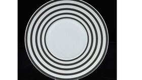 Image of a Base Plates:  Black Circle 12""