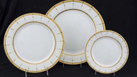 Image of a Base Plates:  Aurora Gold Chop 12""