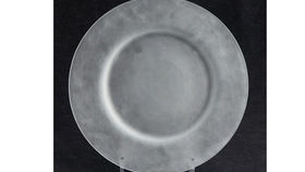 Image of a Base Plates:  Alabaster Frosted Glass 13""