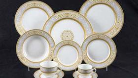 "Image of a Base Plates: Versailles Chop 12"""