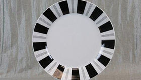 "Image of a Base Plates: Tuxedo Stripe 12"""