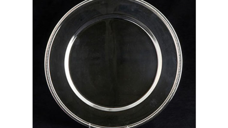 Picture of a Base Plates: Silver Rope 12""