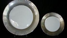 "Image of a Base Plates: Silver Harlequinn Rim 12"""