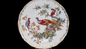 Image of a Base Plates: Pheasant Antique 10.5""