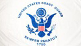 Image of a Coast Guard Flag, 3'x5'