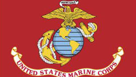 Image of a Marine Corps Flag, 3'x5'