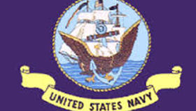 Image of a Navy Flag, 3'x5'