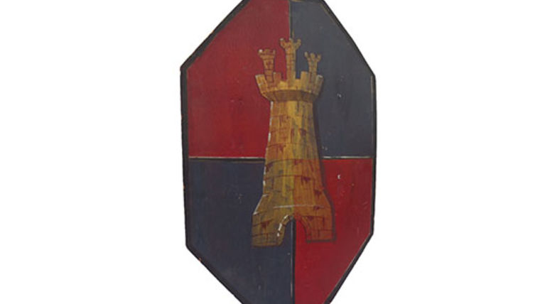 Picture of a Prop: Shield, Medieval Octagon