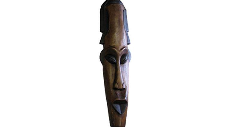 Picture of a Prop: Safari, African Mask Large