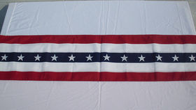 Image of a Flags: Bunting, US 12' Long