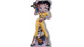 Image of a Cutouts: Betty Boop, Car Hop