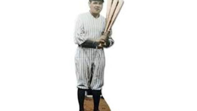 Picture of a Cutout: Babe Ruth