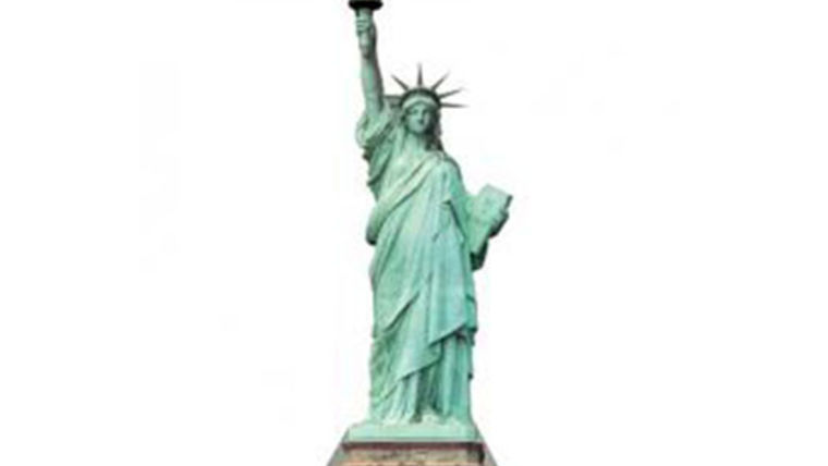 Picture of a Cutout: Statue of Liberty