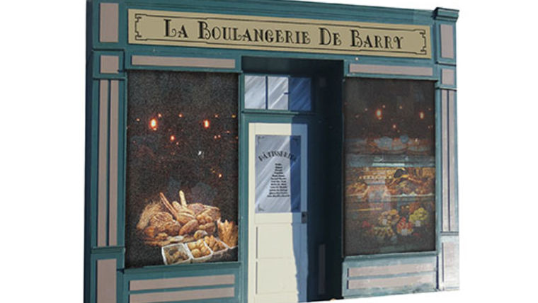 Picture of a Set: International, Parisian Store Front B