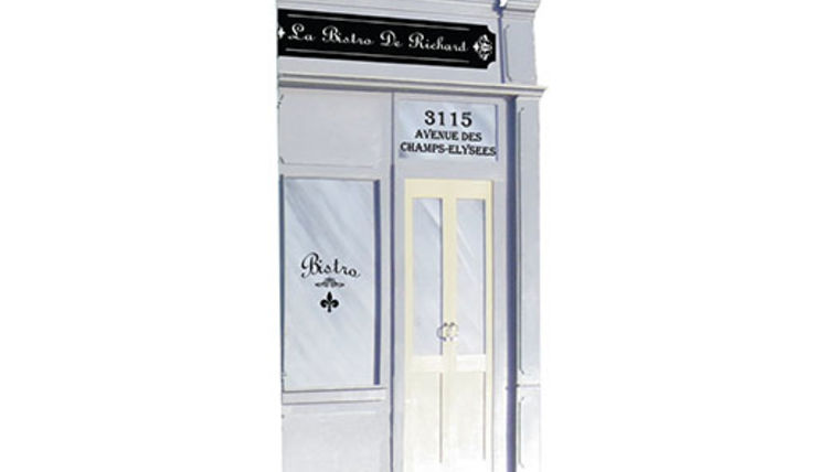 Picture of a Set: International, Parisian Store Front C