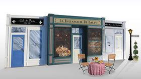 Image of a Set: International, Parisian Store Front
